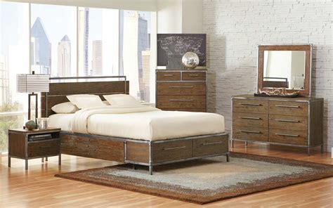 bedroom sets for less coaster arcadia platform panel storage bedroom set