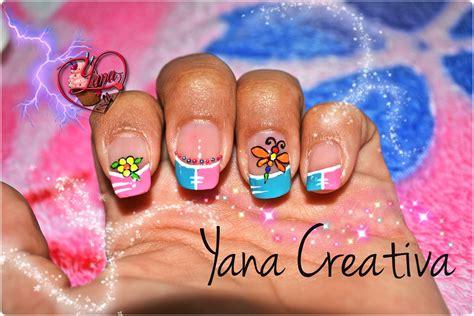 Imagenes Uñas Decoradas Libelulas   decoraciones de u 241 as libelula yana nail art youtube