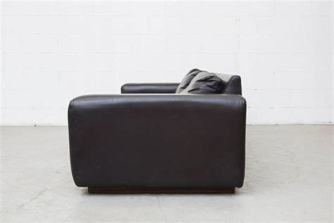 extra long leather sofa extra long mid century leather sofa for sale at 1stdibs