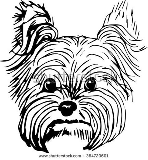 how to clip a yorkie terrier clipart 83