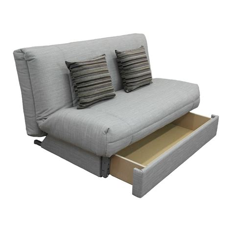 small couch bed small sofa bed haru small sofa bed in quartz blue made