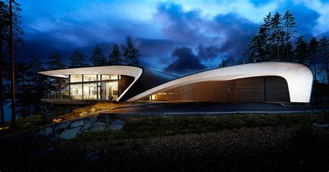 Shape   House  Finland  Inspired