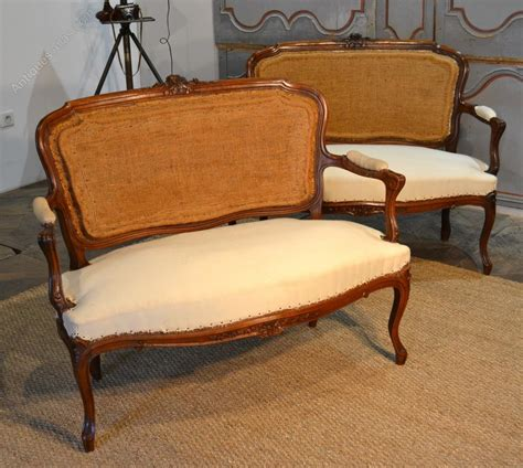 sofa louis xv a vendre pair of louis xv sofa antiques atlas