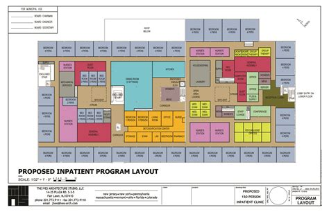 Rehabilitation Center Floor Plan Inpatient Alcohol Rehabilitation Center