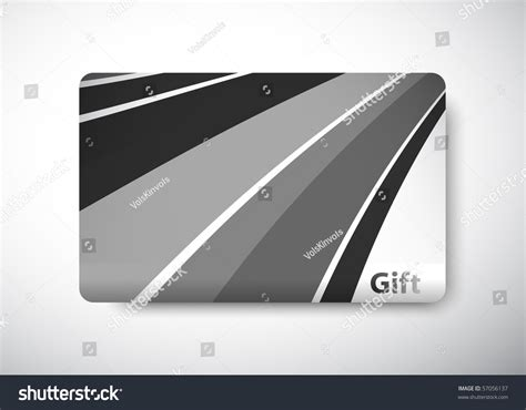 Gift Card Dimensions - gift card size 3 3 8 quot x 2 1 8 quot 86 x 54 mm stock vector illustration 57056137