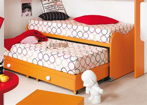 nuvola childrens bed  pull  spare bed modern