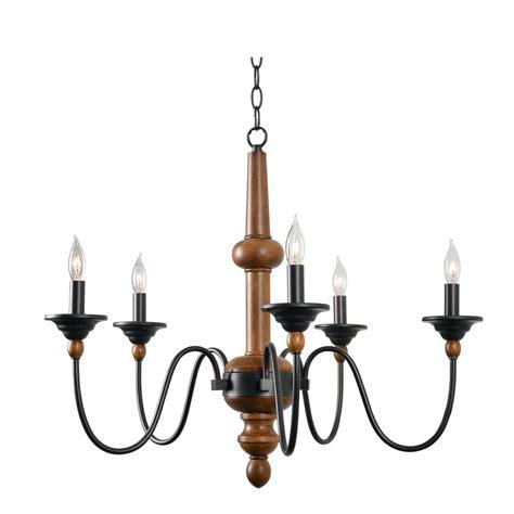 kenroy chandelier kenroy home madeline 5 light wood grain chandelier