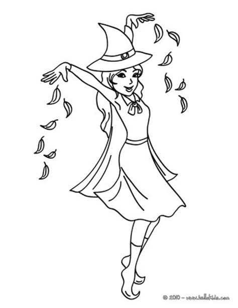 cute witch coloring page witch s magic curse coloring pages hellokids com