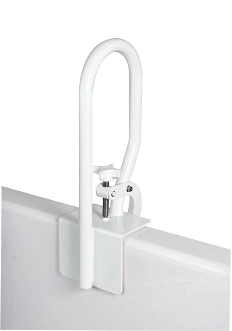 bathtub rail bath safety tub safety rails white bathtub rail fgb20400 0000