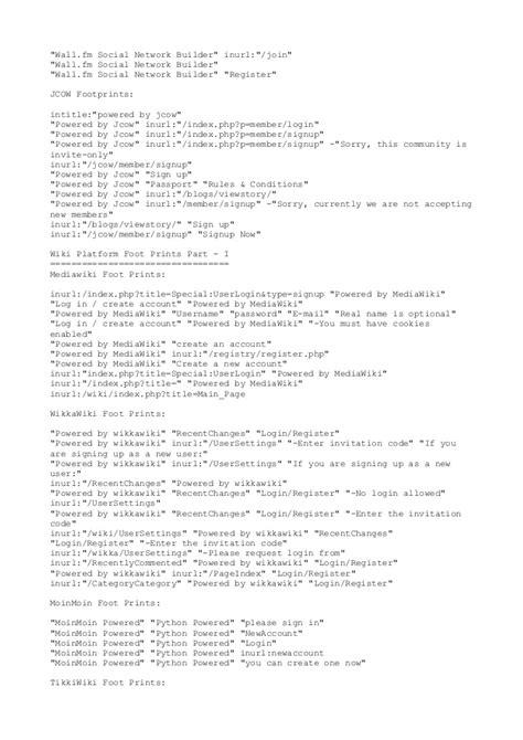 inurlblog powered by phpfox version footprints