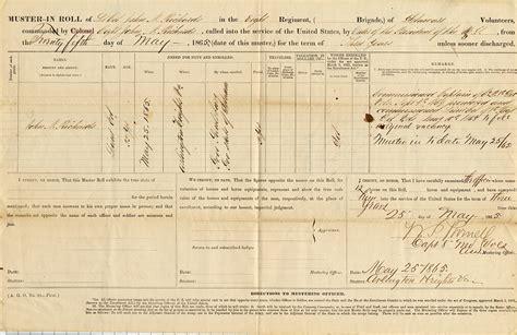 Delco Records State Of Delaware Delaware Archives Civil War
