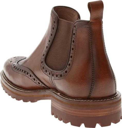 banana republic vincent boot in brown for lyst