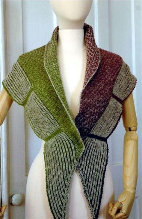 brioche knitting patterns free meadow brioche shawl pattern allfreeknitting