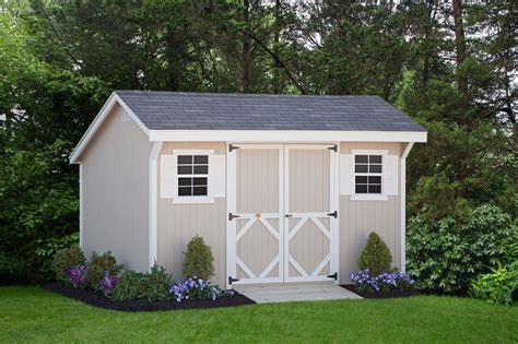 backyard buildings tips for building your own storage shed