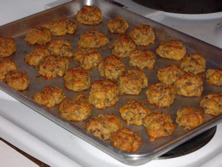 printable easy bake oven recipes really easy oven baked sausage balls foodgasm recipes