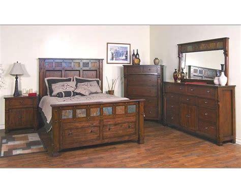 santa bedroom furniture designs santa fe bedroom set su 2322dc set