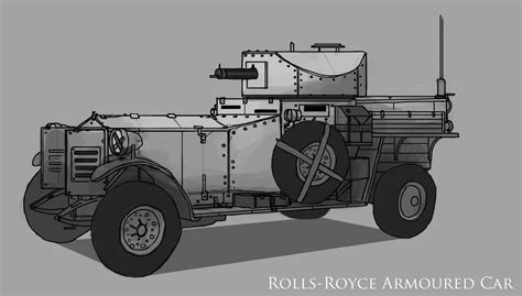 the of martin reimann rolls royce armoured car study