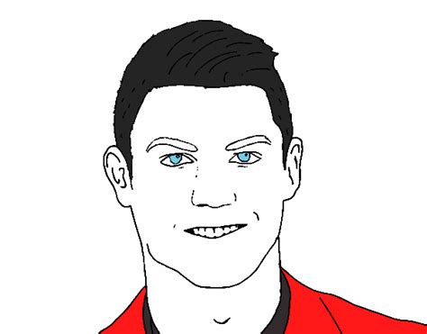 colorir cristiano ronaldo pictures to pin on pinterest