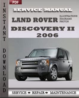service manuals schematics 2006 land rover discovery spare parts catalogs land rover discovery 2 2006 service repair servicerepairmanualdownload com