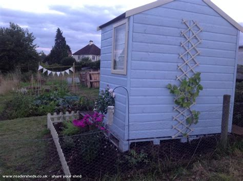 Martins Sheds by The Martins From Allotment Owned By Joshua