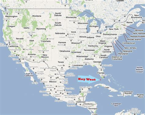 usa map key west where is key west key west travel guide