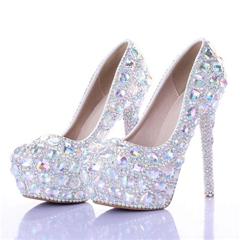 15 Most Beautiful Evening Shoes by Silver Prom Heels Zozeen