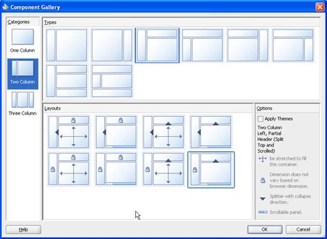 jsf layout components creating and reusing fragments page templates and components