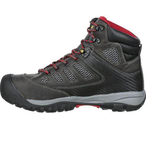 keen safety shoes keen tucson mid steel toe waterproof work shoe k1009180