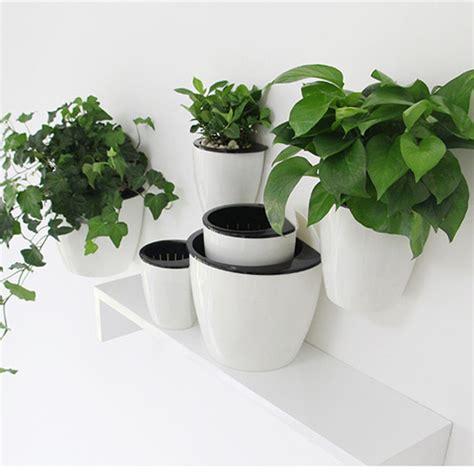 Decorative Plant Pots Decorative Hanging Flower Plant Pot Plastic Garden