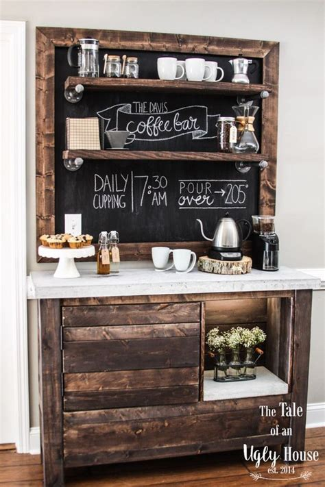 diy make at home dreadlock shoo bar 49 exceptional diy coffee bar ideas for your cozy home