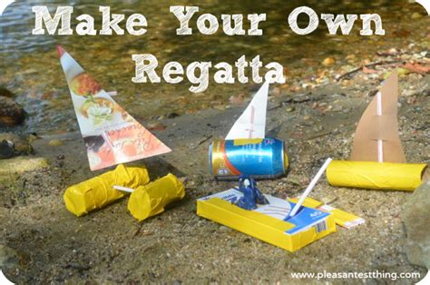 How To Make House Boat With Paper - make your own regatta simple play ideas