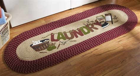 Laundry Room Rugs Runner by Country Laundry Room Runner Area Rug Mat New