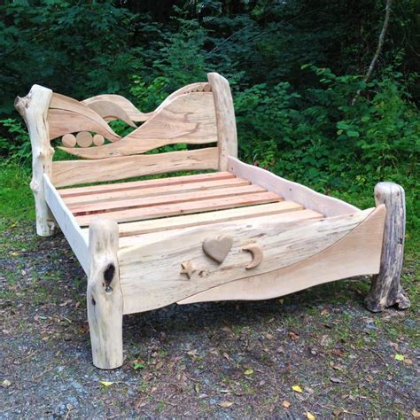 Handmade Wooden Bed - handmade wooden bed collection free range designs