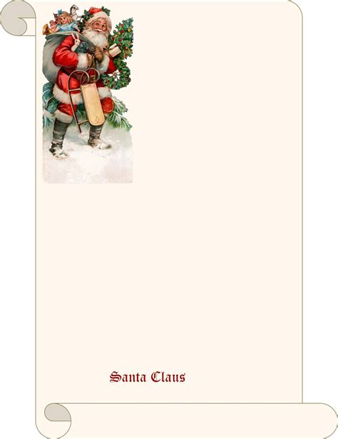 blank letter from santa template search results for letter from santa blank template