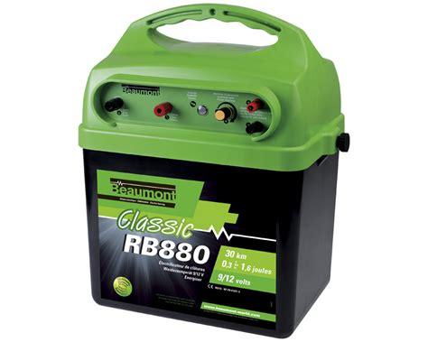 le 9v poste batterie beaumont classic rb880 r6 9v 12v la ferme