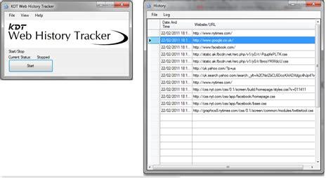 tracker 2000 layout design software download free kdt web history tracker by kdt soft v 1 1