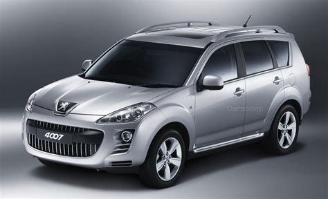2007 Peugeot 4007 Suv Official Pics Info