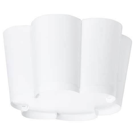 Ikea Lu Lysboj lysboj plafonnier blanc ikea