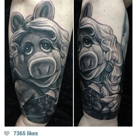 miss piggy tattoo tess munster miss piggy things that just are