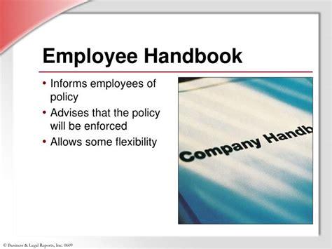 Ppt Progressive Discipline Powerpoint Presentation Id 807907 Employee Handbook Template Powerpoint