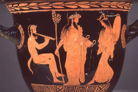 Dionysus Vase by Euripides Bacchae