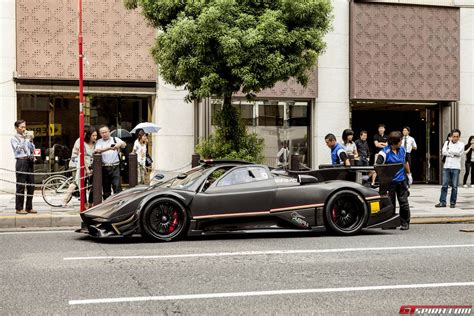 pagani zonda revolucion pagani huayra and zonda revolucion arrived in japan gtspirit
