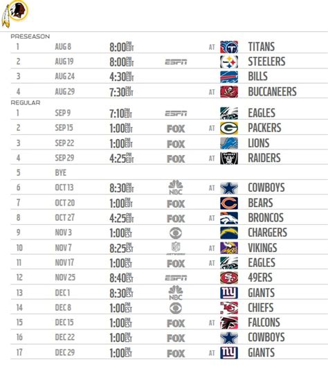 Redskins Home Schedule by 2013 2014 Nfl Schedule Release Date Autos Post