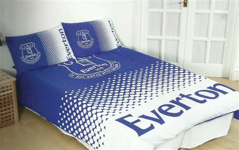 Everton Duvet Cover new everton football club fade duvet quilt cover set boys kid bedroom ebay