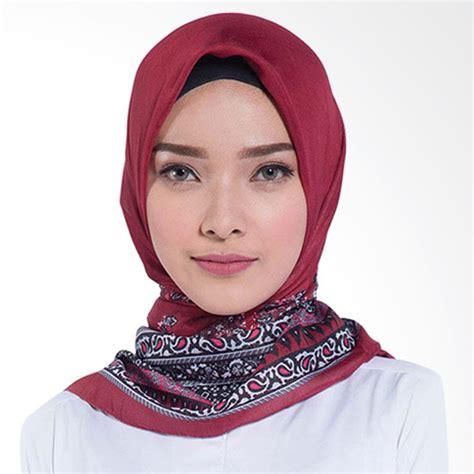 Elzatta Jilbab Segiempat jual elzatta kaila lakisya jilbab segiempat maroon