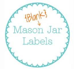 223 Best Images About Free Mason Jar Printables On Pinterest Jar Sticker Template