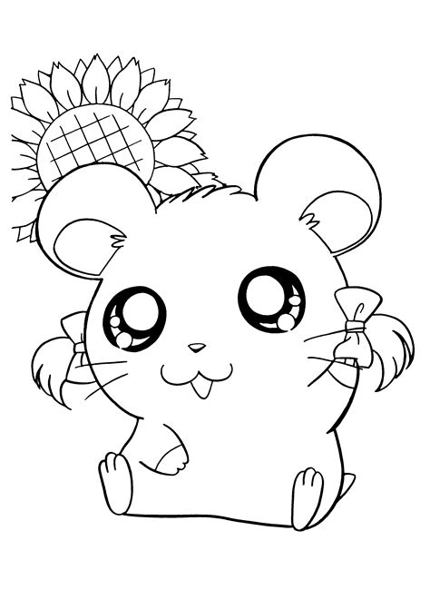 hamtaro coloring pages online hamtaro coloring pages