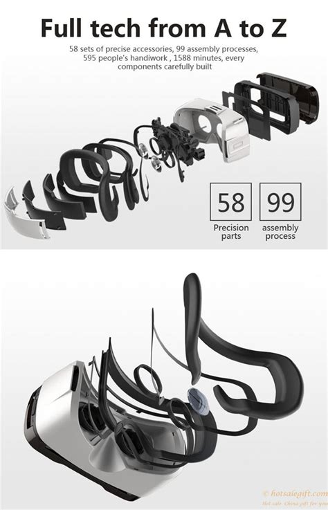 Vr 6th All In 1 Reality 3d Glasses W Blue Limited sale gift vr rk 6th reality 3d glasses