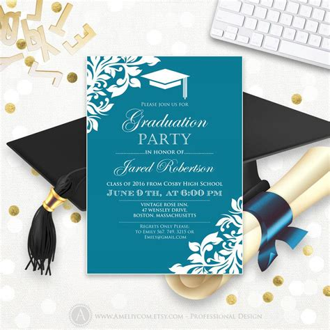 Graduation Announcement Template Card by Graduation Invitation Templates Graduation Invitation