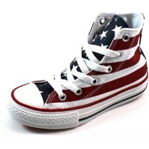 T Shirt Dreambird 1 sneaker met amerikaanse vlag amerika